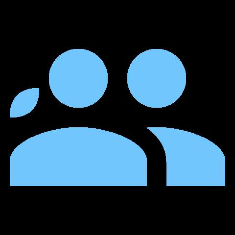 users-blau